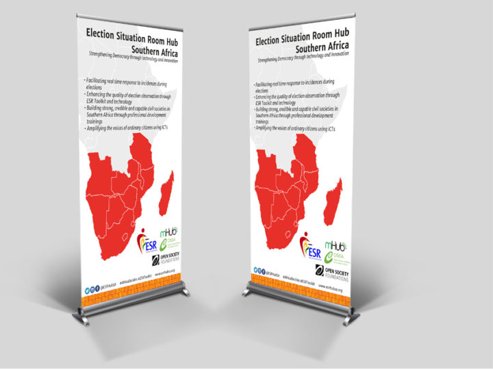 Graphics Design for Election Situation Room (ESR) Hub Southern Africa