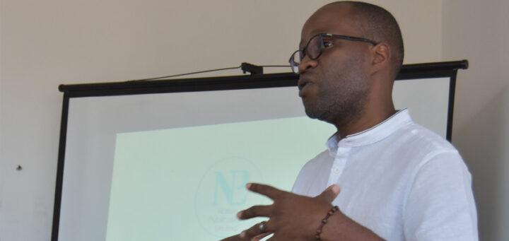 Austin Madinga at Nation Publication's Tech Day