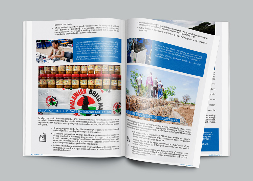 UNDP in Malawi Report