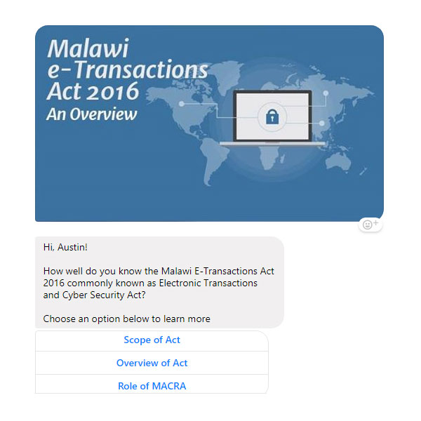 Malawi eTransaction Act