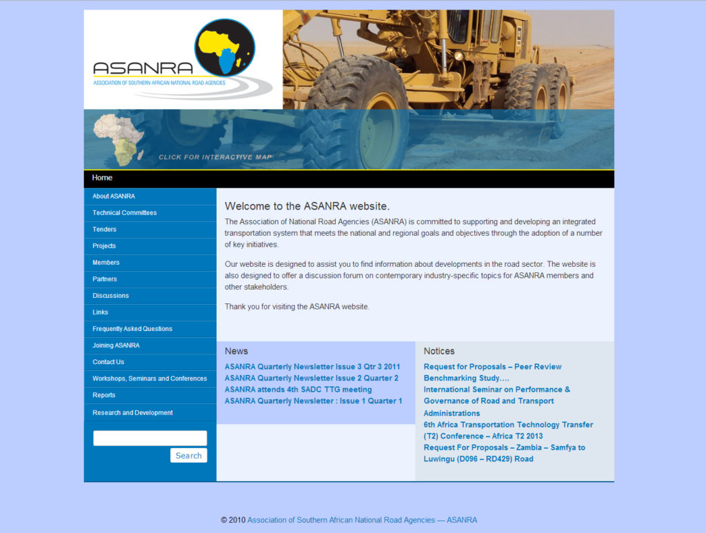 Association of Southern African National Road Agencies