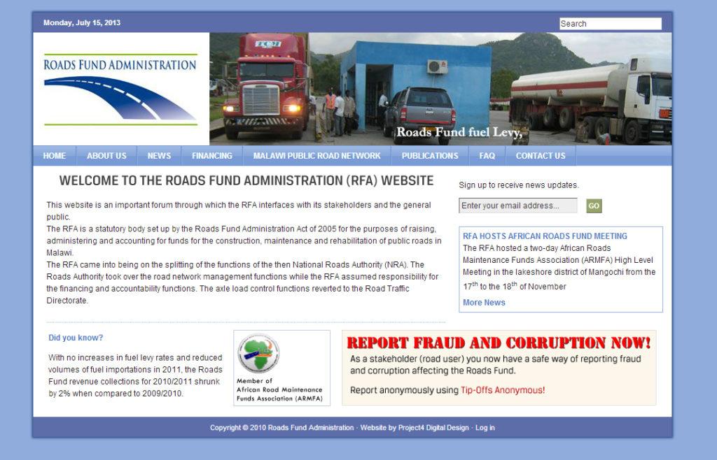 Roads Fund Administration