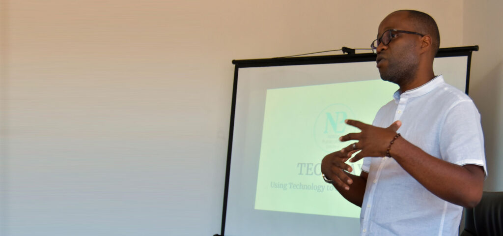 Austin Madinga at Nation Publications Tech Day